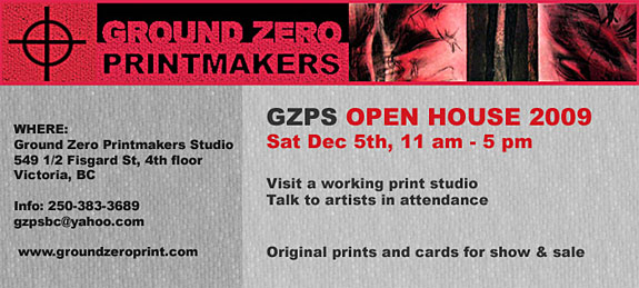 GZPS OPEN HOUSE - Sat. Dec 5th poster